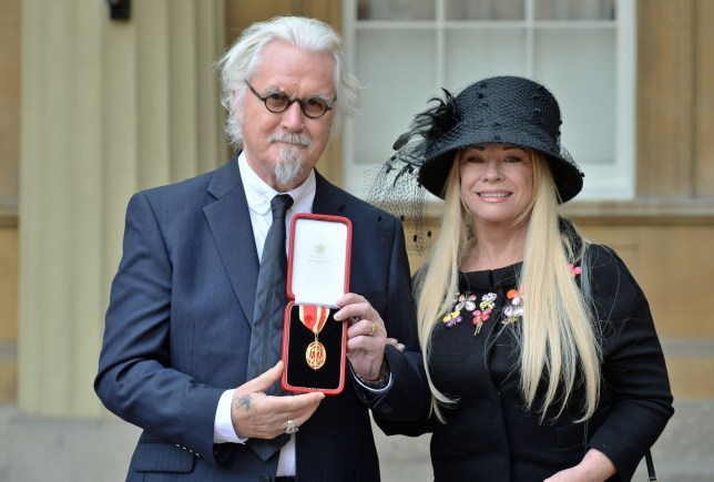 Billy Connolly and wife Pamela
