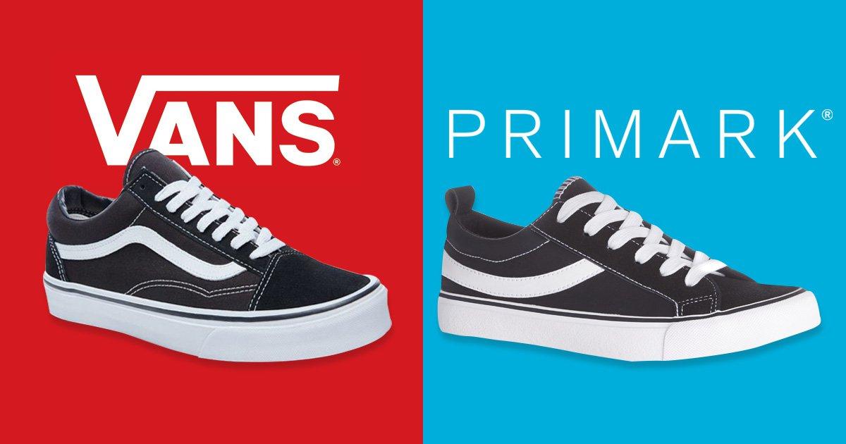 Vans is suing Primark for selling