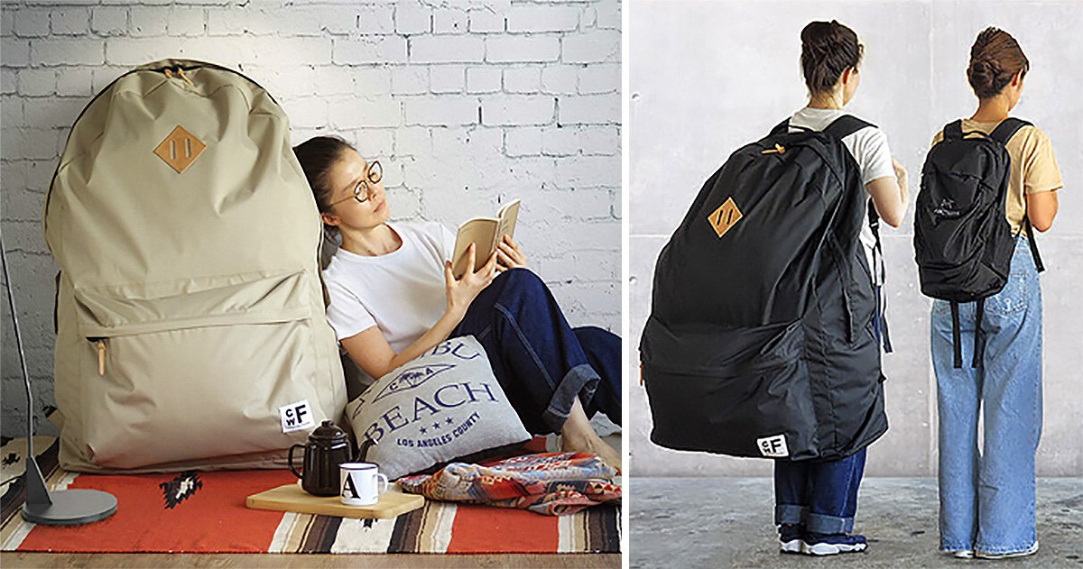 Behold the first fashion trend of 2019: Giant backpacks