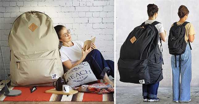 e6252bb88d3 Behold the first fashion trend of 2019  Giant backpacks