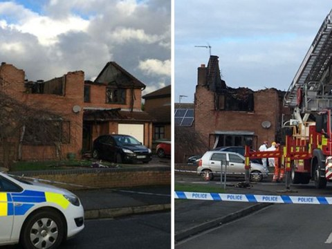 Three dead in house fire as police launch murder investigation