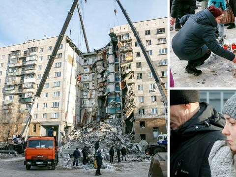 At least 37 dead in explosion that ripped through Russian flat block