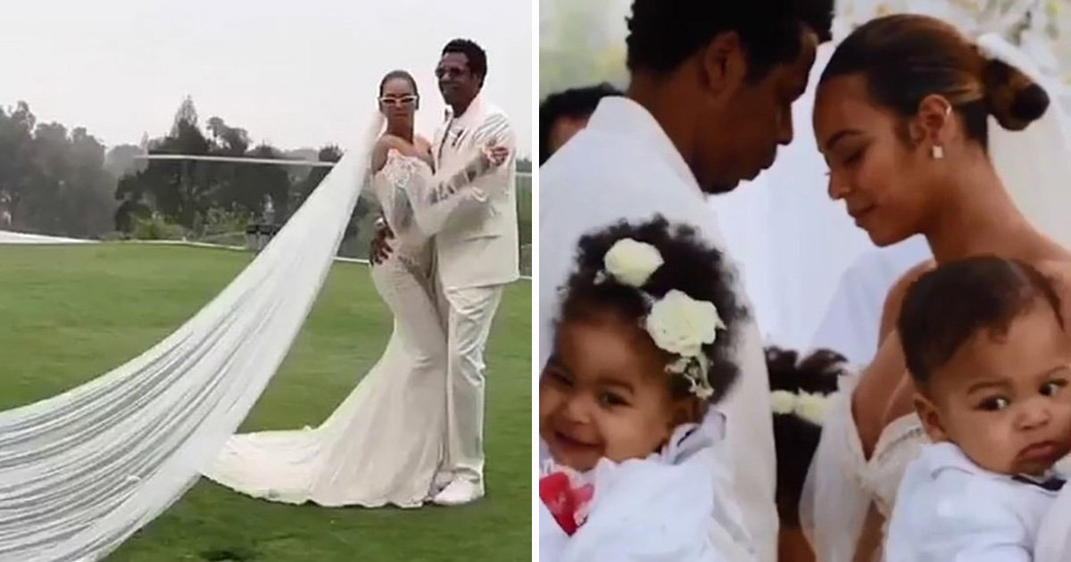 Beyonce's vow renewal wedding dress revealed in full for first time – and as expected, it's stunning