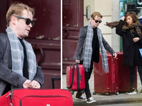 Macaulay Culkin returns from romantic Paris trip with girlfriend Brenda Song – after revealing he wants to 'put babies in her'