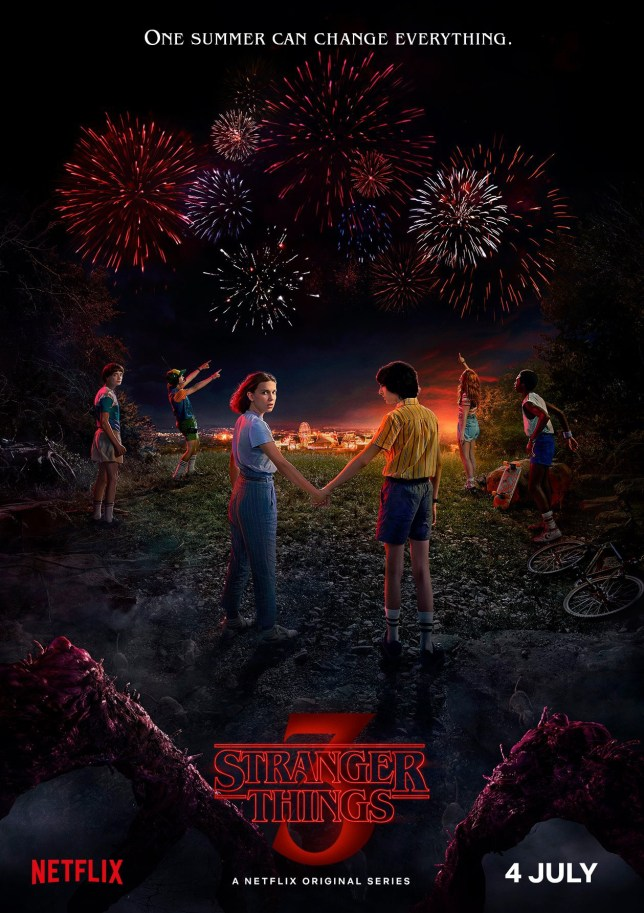 Stranger Things Season 3 promotional poster Picture: NETFLIX METROGRAB
