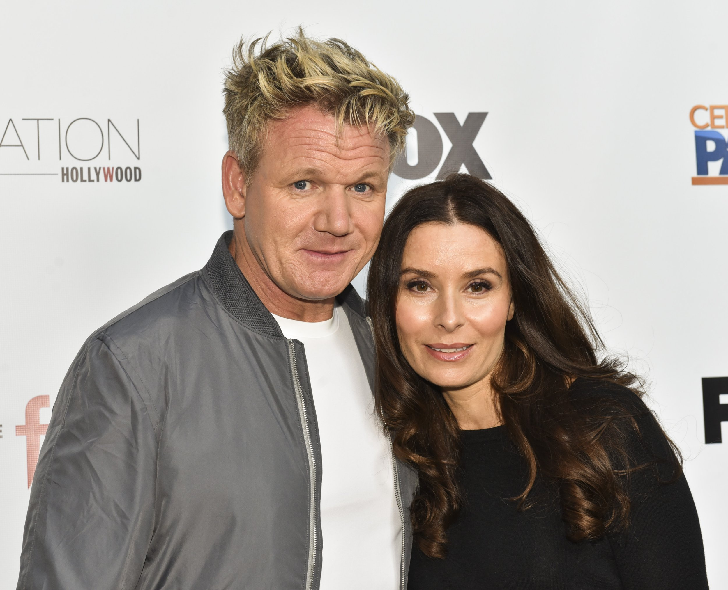 """HOLLYWOOD, CA - MAY 22: Celebrity chef Gordon Ramsay (L) and Tana Ramsay attend """"The F Word"""" celebration at Station Hollywood at W Hollywood Hotel on May 22, 2017 in Hollywood, California. (Photo by Rodin Eckenroth/Getty Images)"""