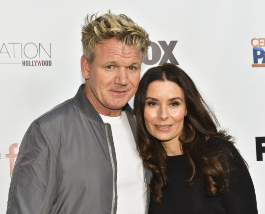 "HOLLYWOOD, CA - MAY 22: Celebrity chef Gordon Ramsay (L) and Tana Ramsay attend ""The F Word"" celebration at Station Hollywood at W Hollywood Hotel on May 22, 2017 in Hollywood, California. (Photo by Rodin Eckenroth/Getty Images)"