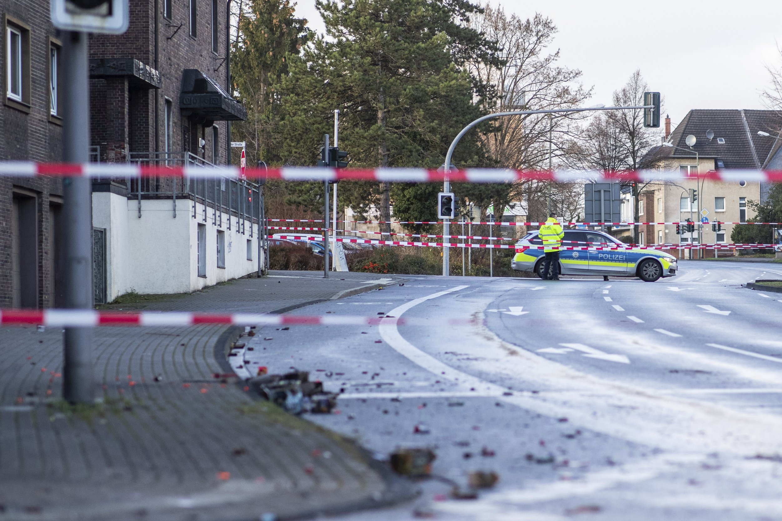 Far right attacker 'drove car deliberately' into crowd of immigrants in Germany