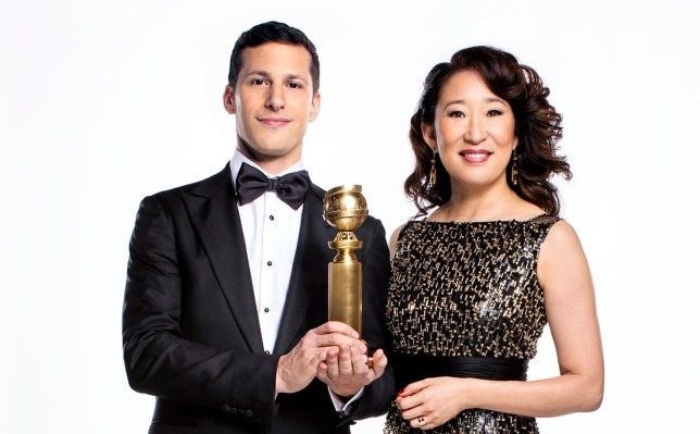 THE GOLDEN GLOBE AWARDS -- Andy Samberg