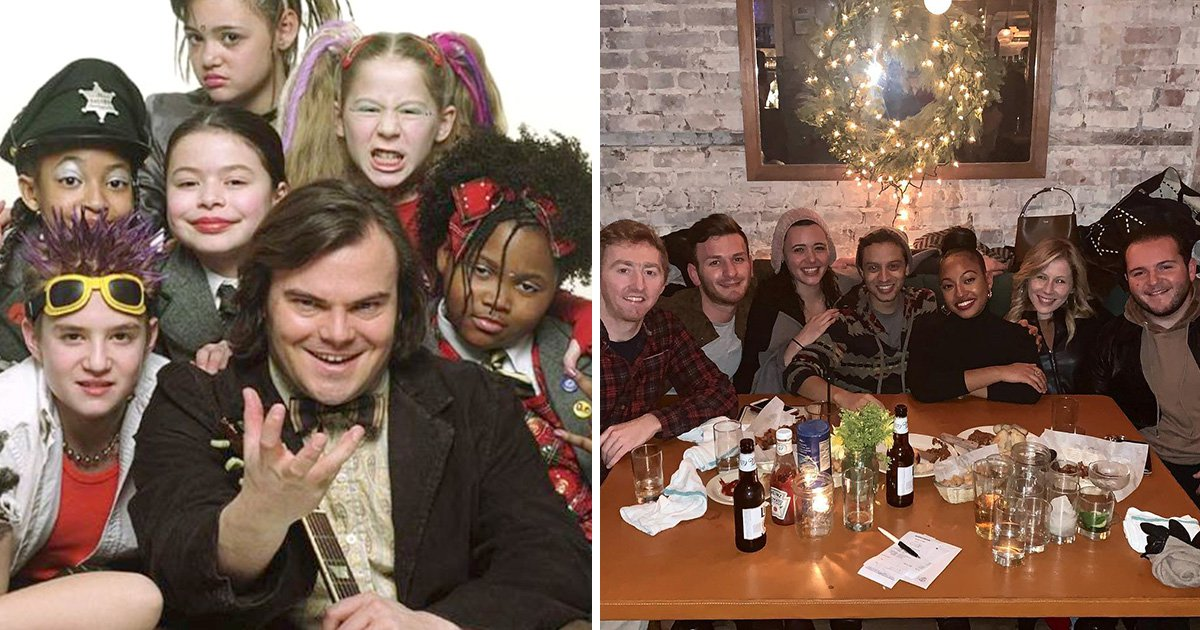 School Of Rock kids reunite for New Year's party – and two of them are now dating