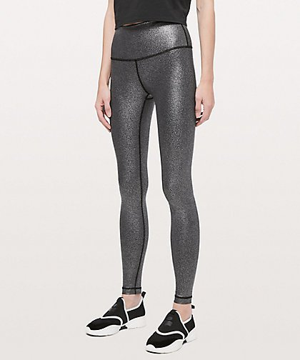 Clothing, Shoes, Accessories Humorous Grey Nike Leggings In Size M Complete Range Of Articles Women's Clothing