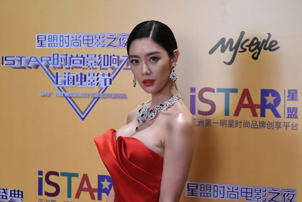 SHANGHAI, CHINA - JUNE 18: South Korean actress Clara Lee attends iStar Film Fashion Awards on June 18, 2018 in Shanghai, China. (Photo by VCG/VCG via Getty Images)