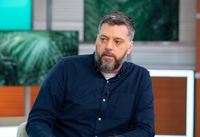 Editorial use only Mandatory Credit: Photo by Ken McKay/ITV/REX/Shutterstock (10003439bv) Iain Lee 'Good Morning Britain' TV show, London, UK - 29 Nov 2018 PINKFONG AND BABY SHARK - SAM It's been the kid's TV song of the summer and now Baby Shark has entered the race for the Christmas Number 1. Like all best viral hits (2 BILLION hits on Youtube), it has also sparked a dance craze which Pinkfong and Baby Shark will demonstrate live and exclusively in our studio! * PinkFong and Baby Shark perform at mediawall (50 secs) * Iain Lee and Laura Tobin try to join in