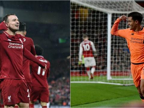 Xherdan Shaqiri not yet ready to fill Philippe Coutinho's shoes, says Liverpool boss Jurgen Klopp
