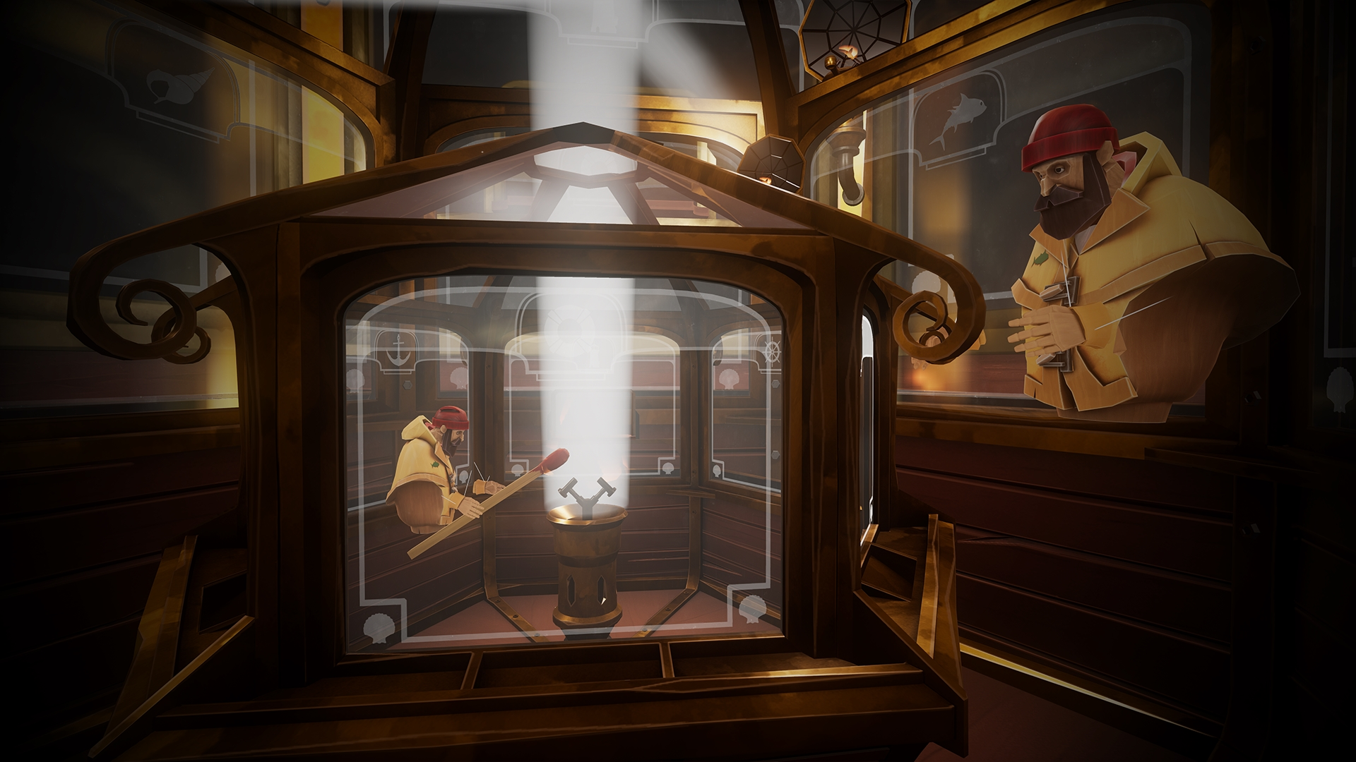 A Fisherman's Tale (PSVR) - lighthouse within lighthouses