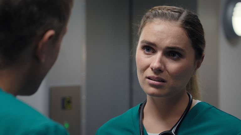 Alicia returns to Casualty