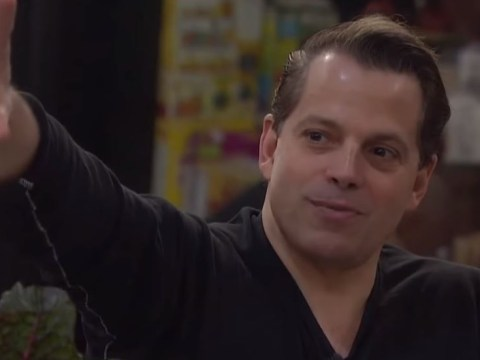 Did Anthony Scaramucci leave Celebrity Big Brother because he was a mole?