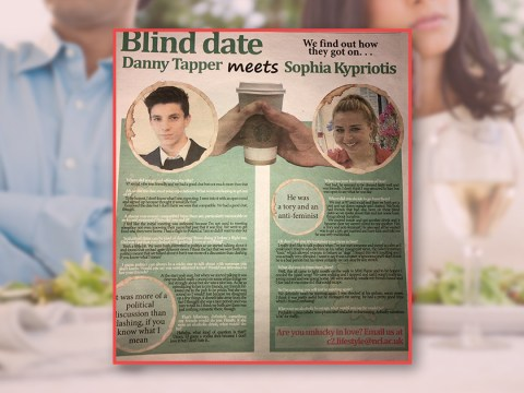 Students who went on a blind date had wildly different ideas about how it went