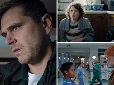 Casualty review with spoilers: Iain faces a death as Louise saves a life