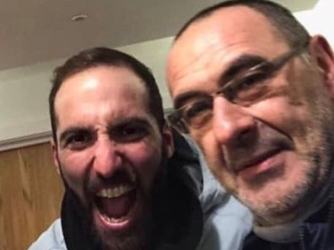 Maurizio Sarri explains why Gonzalo Higuain might have been 'worried' before joining Chelsea