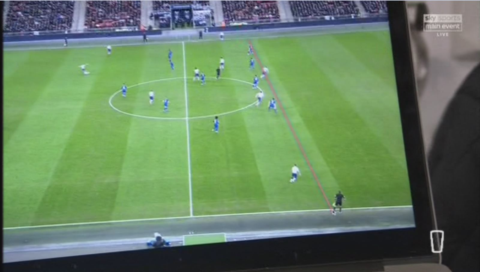 Chelsea boss Maurizio Sarri says new camera angle proves Harry Kane was offside before penalty