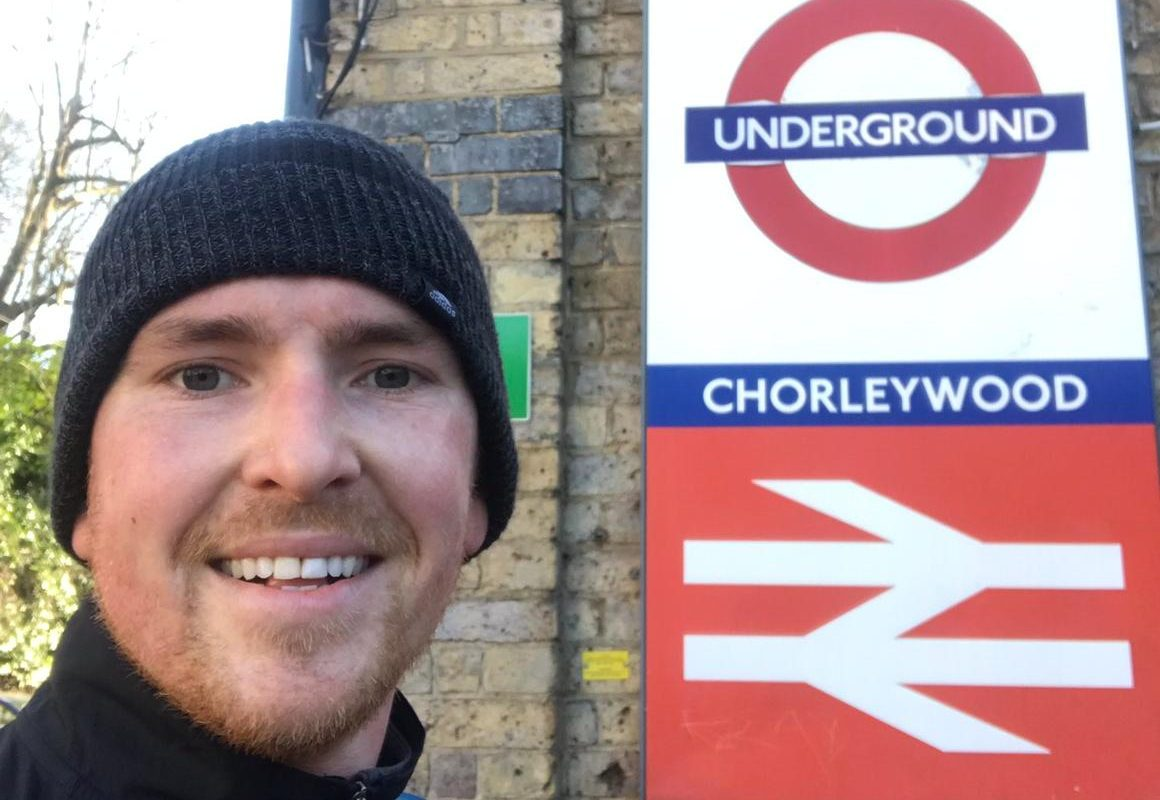 Man who had suicidal thoughts runs the length of the entire London tube network to raise awareness