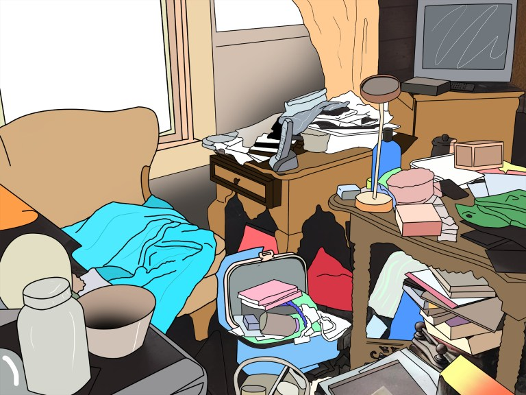 Emotional relationship with clutter/why some people find it so hard to throw things away