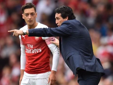 Arsenal squad blame Paris Saint-Germain star Neymar for Unai Emery's rift with Mesut Ozil