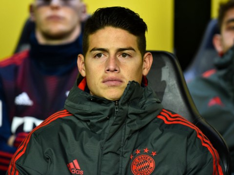 Bayern Munich chief speaks out on James Rodriguez's future amid Arsenal links