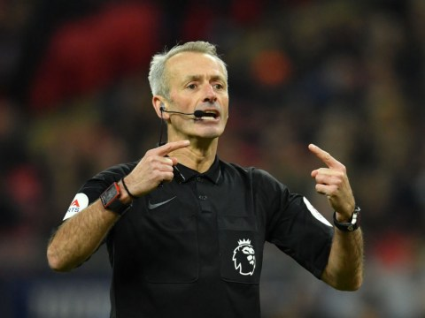 Who is the referee for Chelsea vs Tottenham in the Carabao Cup?