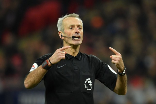 Premier League referee Martin Atkinson taking charge of Tottenham vs Chelsea