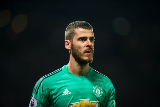47aef25a5 David De Gea close to signing new five-year deal to stay at Manchester  United