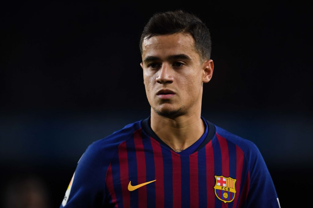 Manchester United begin talks to sign Philippe Coutinho from Barcelona