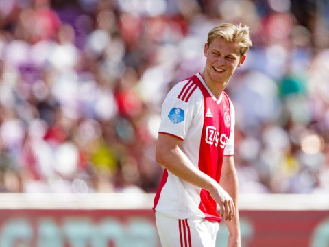 Barcelona club president lands in Amsterdam to sign Manchester City target Frenkie De Jong