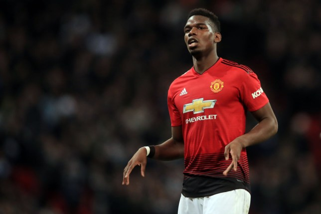 f8ac399b0fc Paul Pogba and Nemanja Matic missing from Manchester United training ahead  of Brighton clash