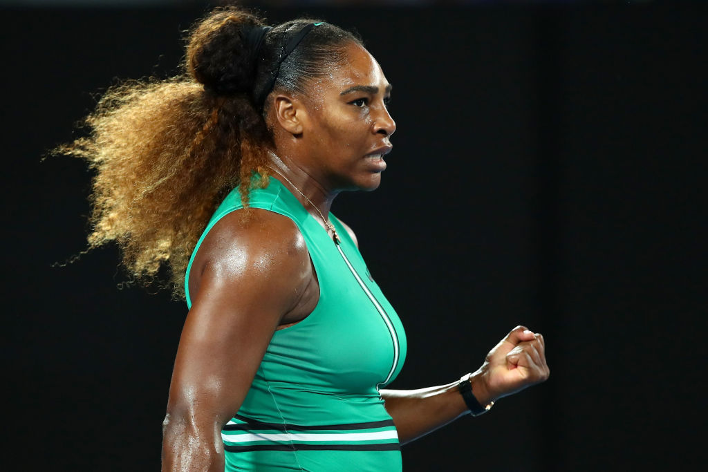Serena Williams reacts to impressive Eugenie Bouchard win