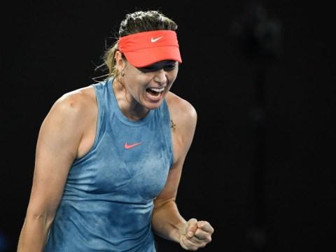 Maria Sharapova stuns defending champion Caroline Wozniacki
