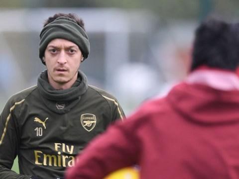 Mesut Ozil sends clear message to Unai Emery ahead of Arsenal v Chelsea