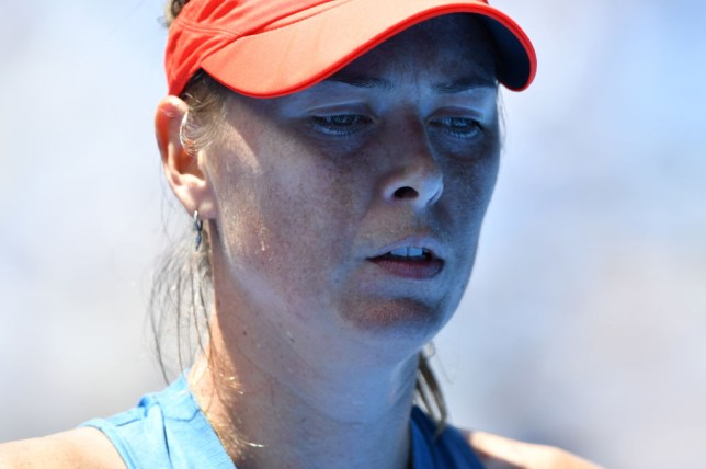 Maria Sharapova Out Of The Australian Open After Being Roundly Booed