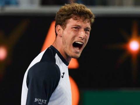 Pablo Carreno Busta apologises for screaming 'B*STARD' at umpire after five-hour Australian Open defeat