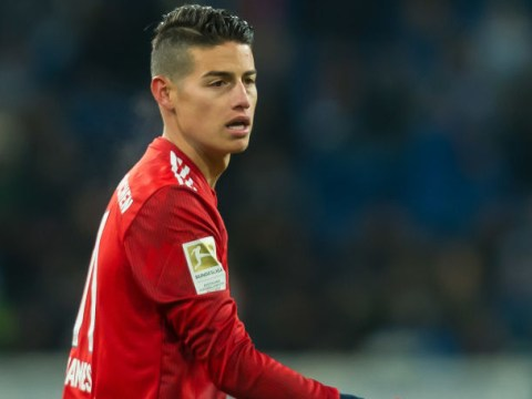 Arsenal transfer target James Rodriguez wants to stay at Bayern, says father