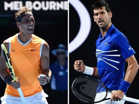 Pat Cash convinced Novak Djokovic was sending a message to Rafael Nadal with Australian Open beatdown