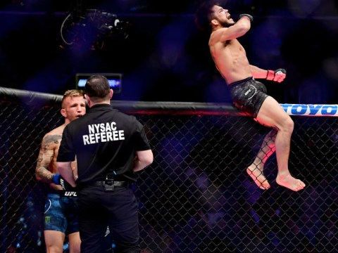 TJ Dillashaw slams referee for early stoppage in UFC showdown with Henry Cejudo
