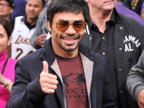 Manny Pacquiao allays fears eye injury could end career