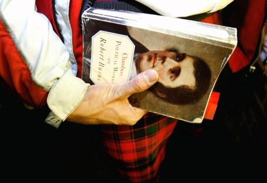 Burns night, to celebrate Scottish poet Robert Burns