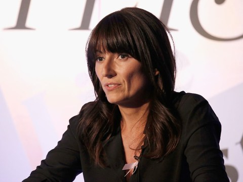 Davina McCall sometimes goes to the gym five times a week but says she 'doesn't work out too much'