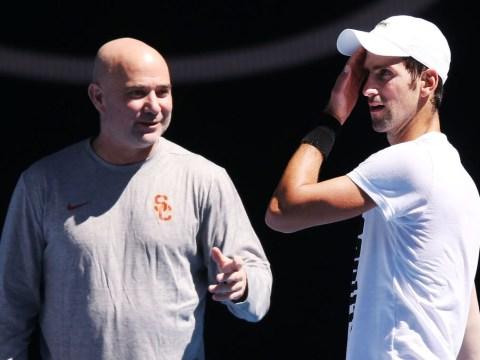 Andre Agassi confident Novak Djokovic is on course to surpass Roger Federer