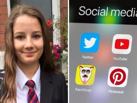 Girl, 14, who took her own life was sent self-harm images even after her death