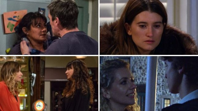 Emmerdale spoilers for Cain Debbie Moira Chas Charity Maya and Jacob