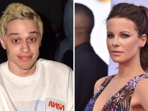 Pete Davidson strikes up unlikely friendship with Kate Beckinsale at Golden Globes following Ariana Grande split